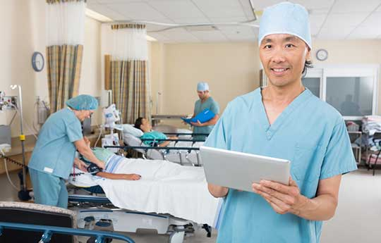 Surgeon-Performing-Outpatient-Sling-Surgeries